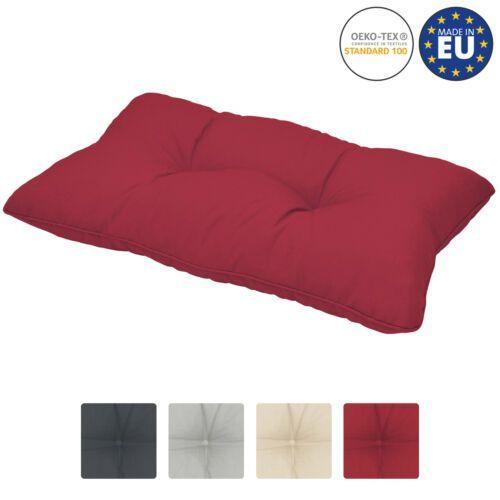Правоъгълна възглавничка Beautissu 50х40х12см - Различни цветове