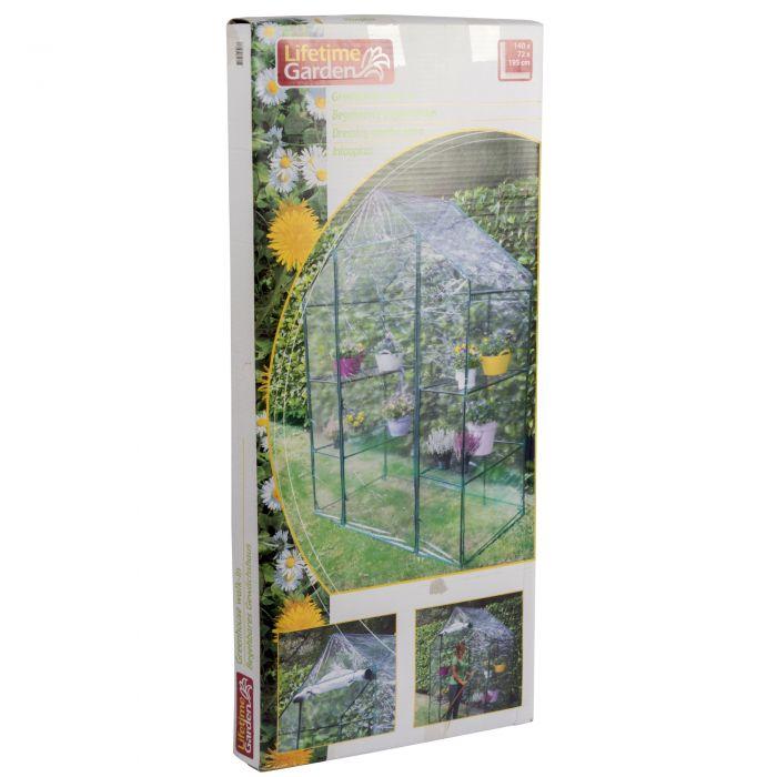 Градинска оранжерия 140х72х195см