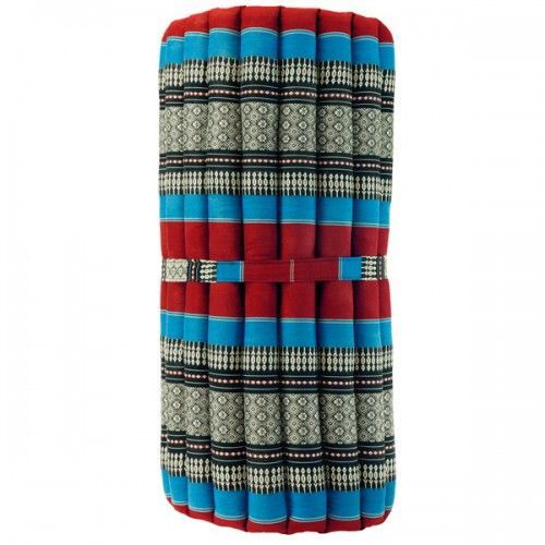 Постелка за Йога ролка XL синьо-червена