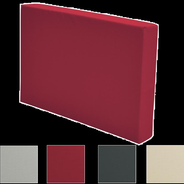 Палетна възглавница половин гръб 60х40х8см - Различни цветове