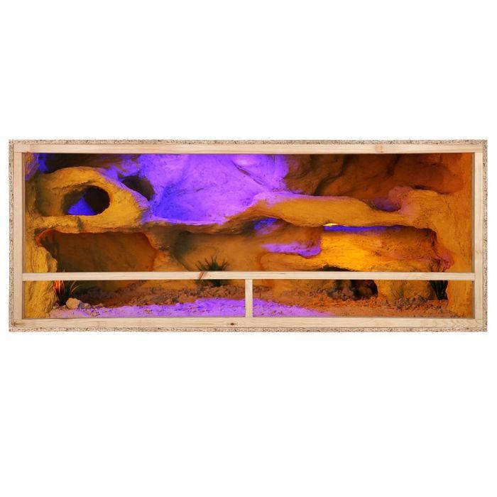Терариум със страничен отдушник 150х60х60см