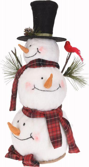 Коледен снежен човек