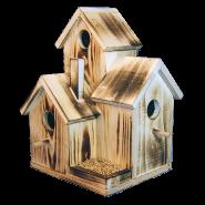 Къща за птици Тройна